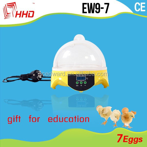Transparent Full Automatic 7 Eggs EW9-7 Birthday Gifts For Girl Child