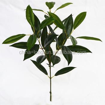 lsd-201608311221 artificial silk green leaf fake hanging plants for