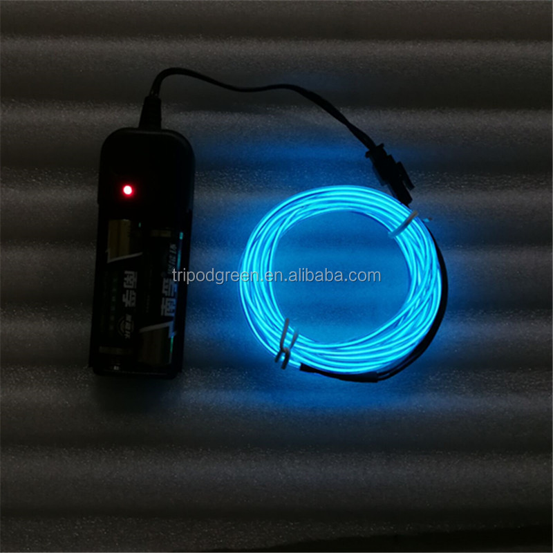 Different Size And 10 Colors,Portable Neon Light El Wire With ...