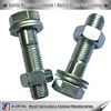 hot dip galvanized m.s. nut bolt for heavy structure
