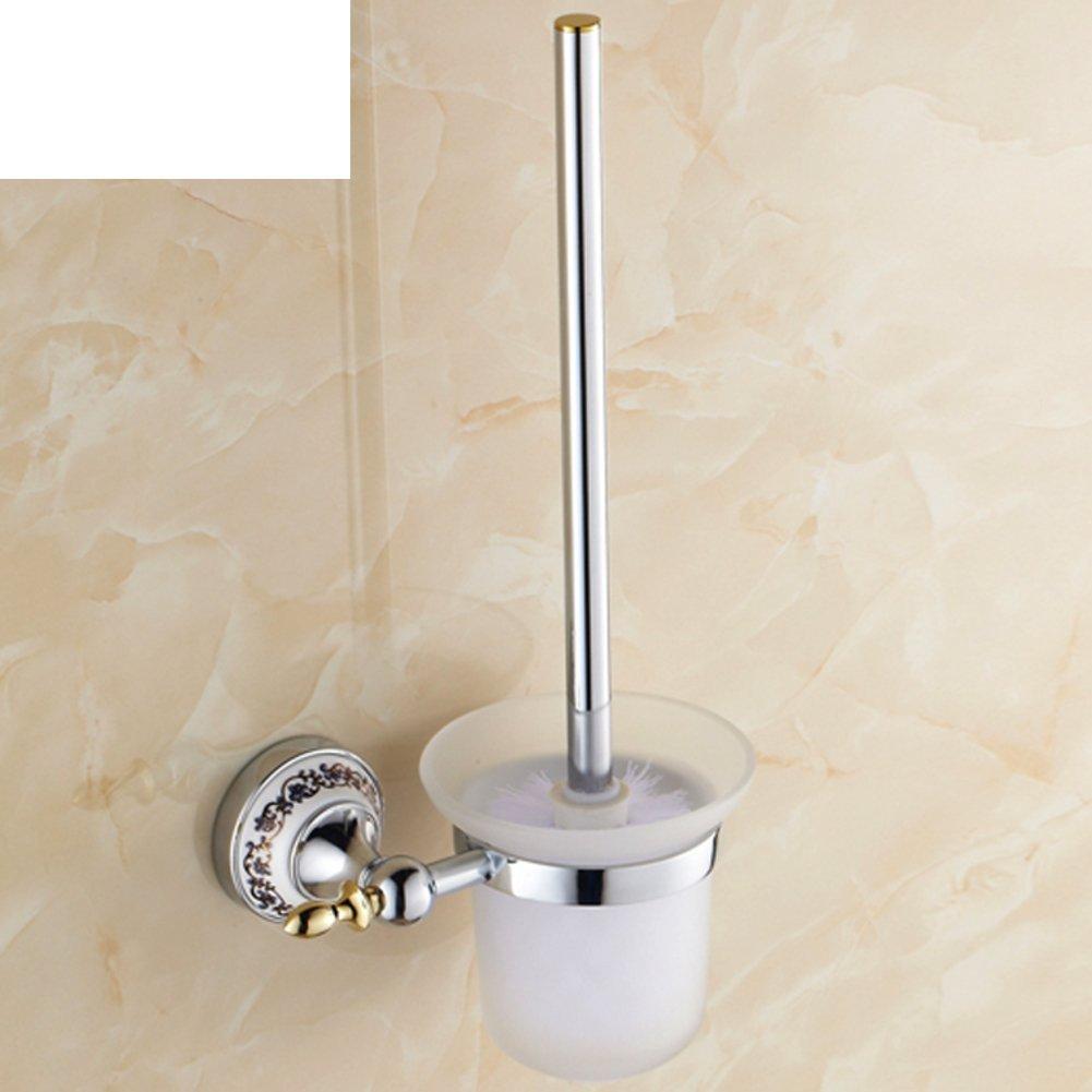 Cup holder bathroom toilet brush/Stainless steel toilet kit/Creative fur toilet/Bathroom accessories