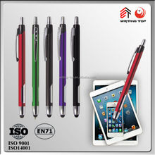 2016 promotional aluminium touch anodized pens