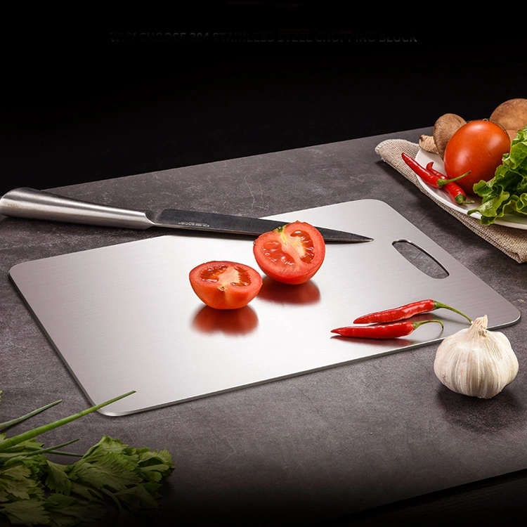 Stainless Steel Cutting Board 대 한 주방 야채 마 Blocks 304 Cutting Boards 대 한 고기