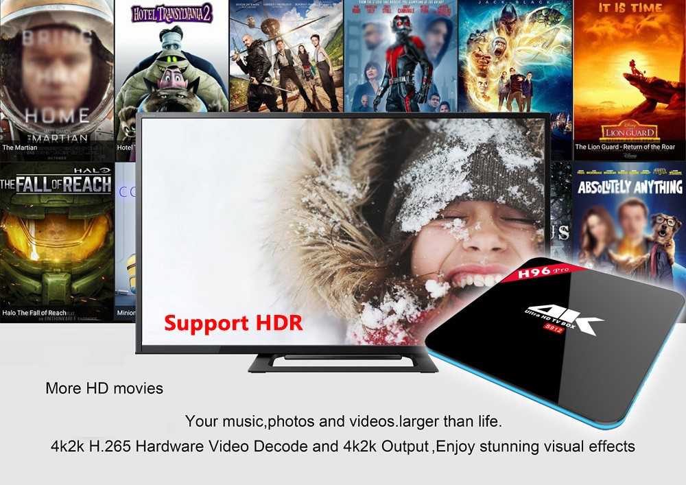 Download User Manual For Android Tv Box 4k S912 H96 Pro Android Tv Box Octa  Core Android 7 1 2 4/5 8g - Buy H96 Pro Android Tv Box,Download User