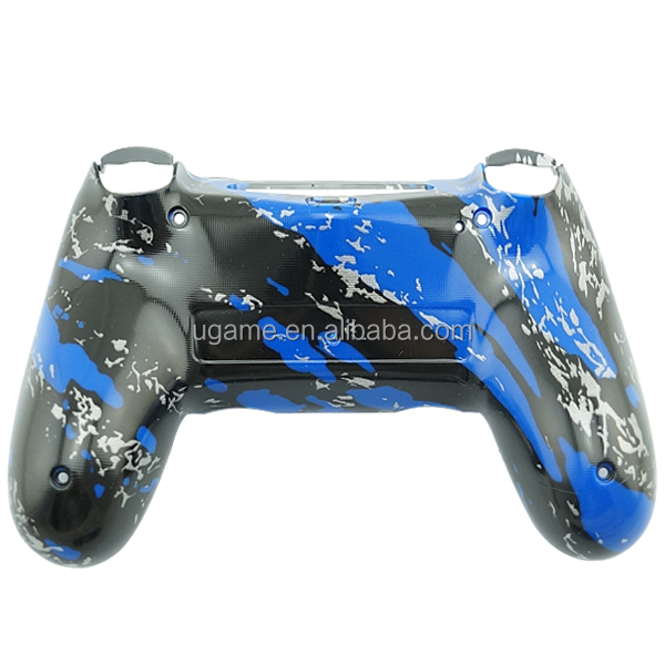Hydro Dipped Blue Splatter Controller Shell for PS4 Dualshock 4 Repair Parts Case