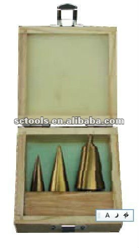 HSS CONICAL DRILL SET