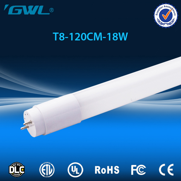 Whole PC cover LED Tube 18W 110lm ul plastic t8 led tube for living room