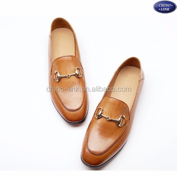 2016 newest Woman Genuine Leather Flat Loafers Fashion slip on shoes