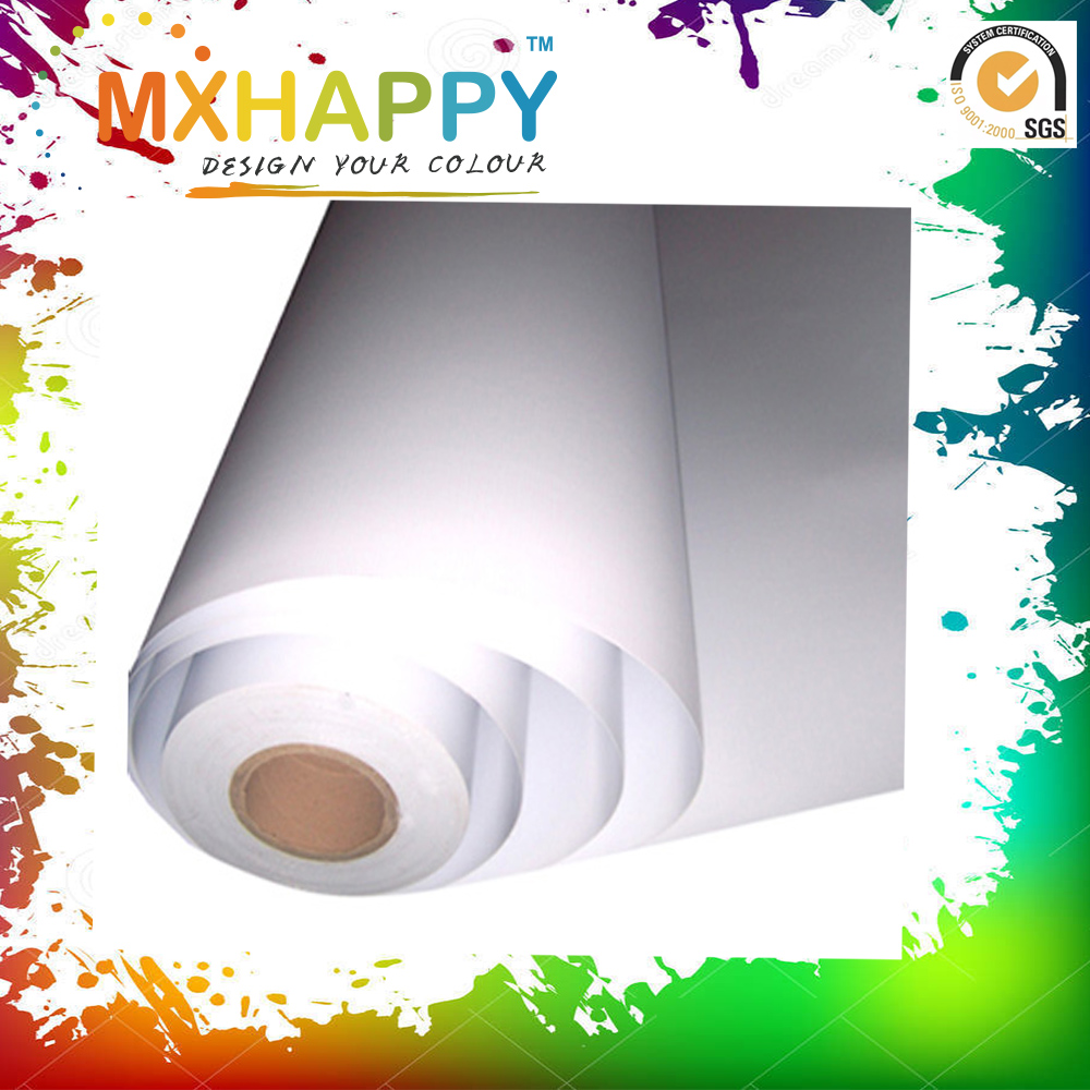 MXHAPPY 100gsm Iron-on Transfer Paper Sublimation Ink Heat Transfer Paper for Inkjet Printer