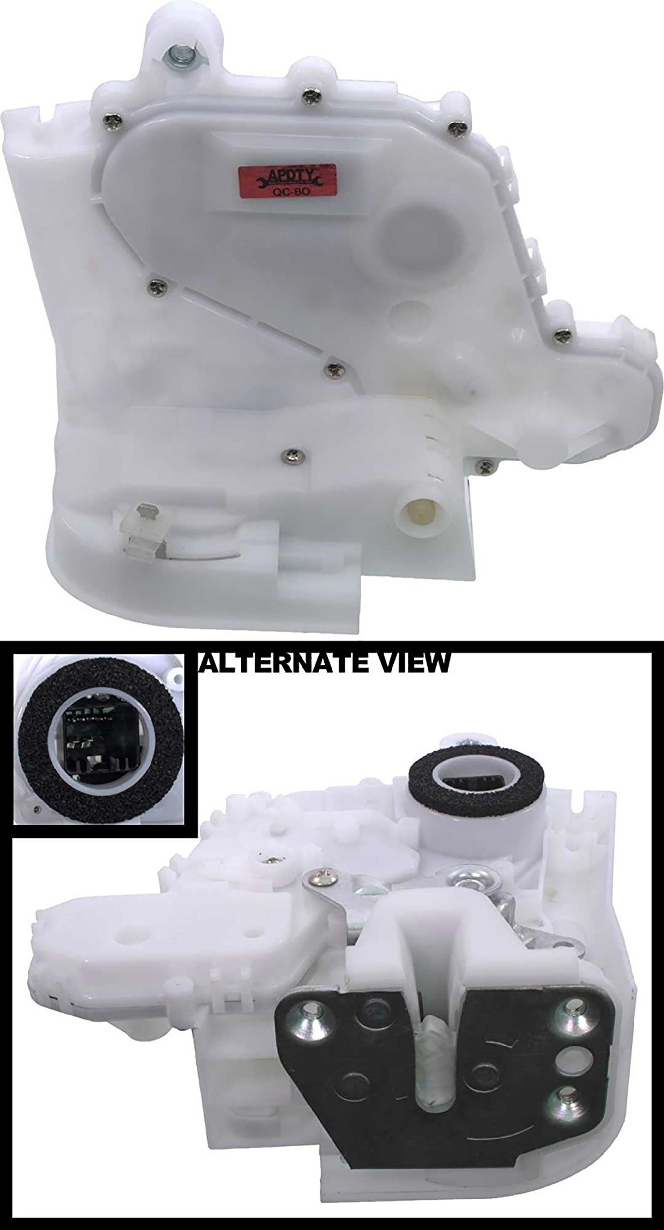 APDTY 133859 Door Latch With Lock Actuator Motor Fits Front Right Passenger-Side 2007-2011 Honda CRV CR-V (Replaces 72110-SWA-D01, 72110-SWA-A01, 72110SWAD01)
