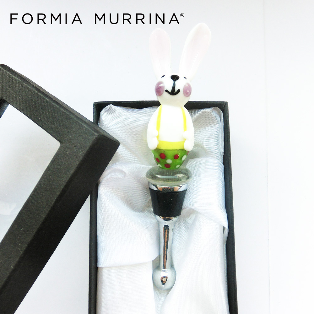 China Murano Glass Gifts Collection Murano Make Wine Bottle Stopper