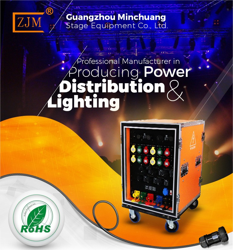 3 Phase Stage Lighting Distribution For Performance