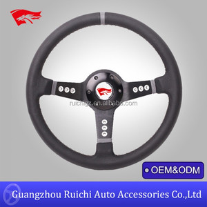 High Quality 330mm Grain Leather Logitech G25 Racing Steering Wheel