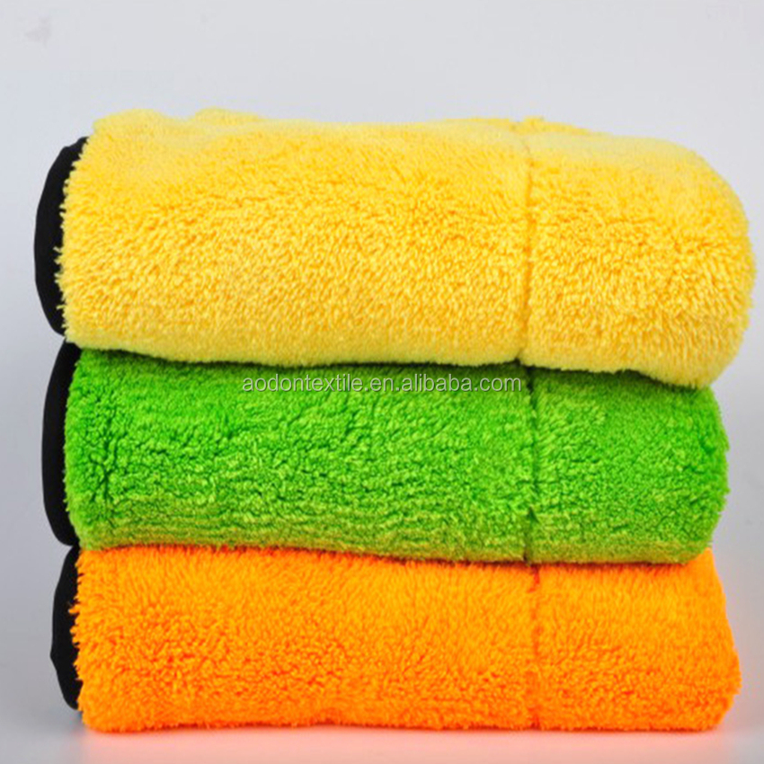 Super Plush Microfiber Car Cleaning <strong>Towel</strong>