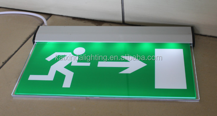 4w Emergency Exit Sign Led Board With Ce Rohs