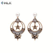 Hyderabadi jewellery dragon cuff earring pictures Vintage Star Crystal Earrings