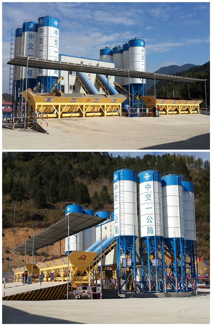 Excellent Performance Ready Mix Hzs120 Automatic Aggregate