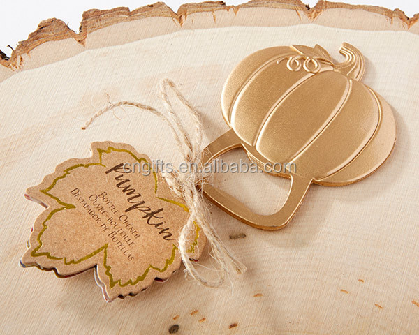 Ywbeyond New arrival Pumpkin Bottle Opener Wedding Party Favour