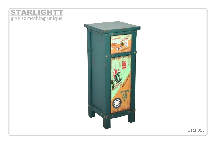 new design wooden cabinet with basket drawers