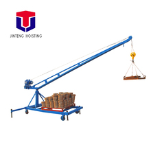 Building Material Lifting Equipment Firm And Durable lift tool Super long arm small shop crane