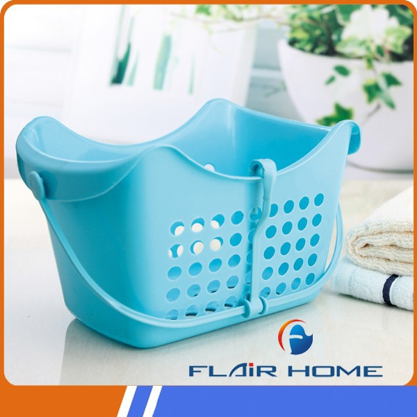 Multifunction plastic basket with handle