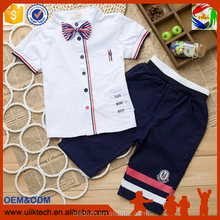 Free shipping kid clothes cheap price baby boy set/baby suit for wedding