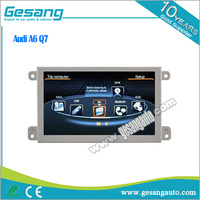 Gesang car audio products android 5.1 car dvd player for Audi A6 Q7 with GPS BT IPOD DVR