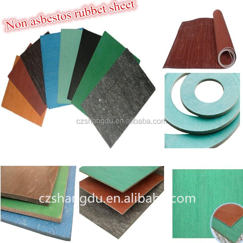Non-asbestos Sheet Made In China/asbestos Free Rubber Sheet
