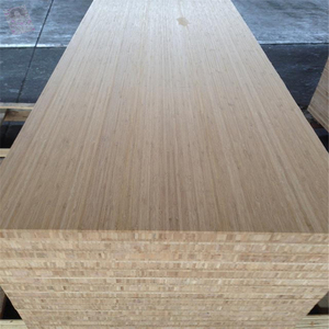 Hot Sales 25mm Bamboo Plywood Laminated Kitchen Bamboo Countertop/Worktop with Edge