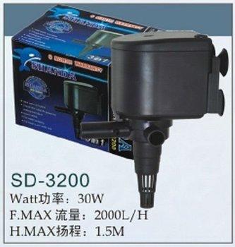 Aquarium Pump Submersible Pump Water Pump (shanda) Sd-3200