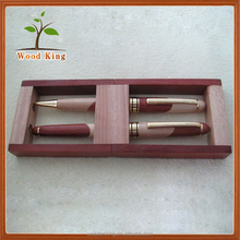 Couples Stationery Set Contracted Fashion Pen Box Custom Logo Wooden Best Ballpoint Pen
