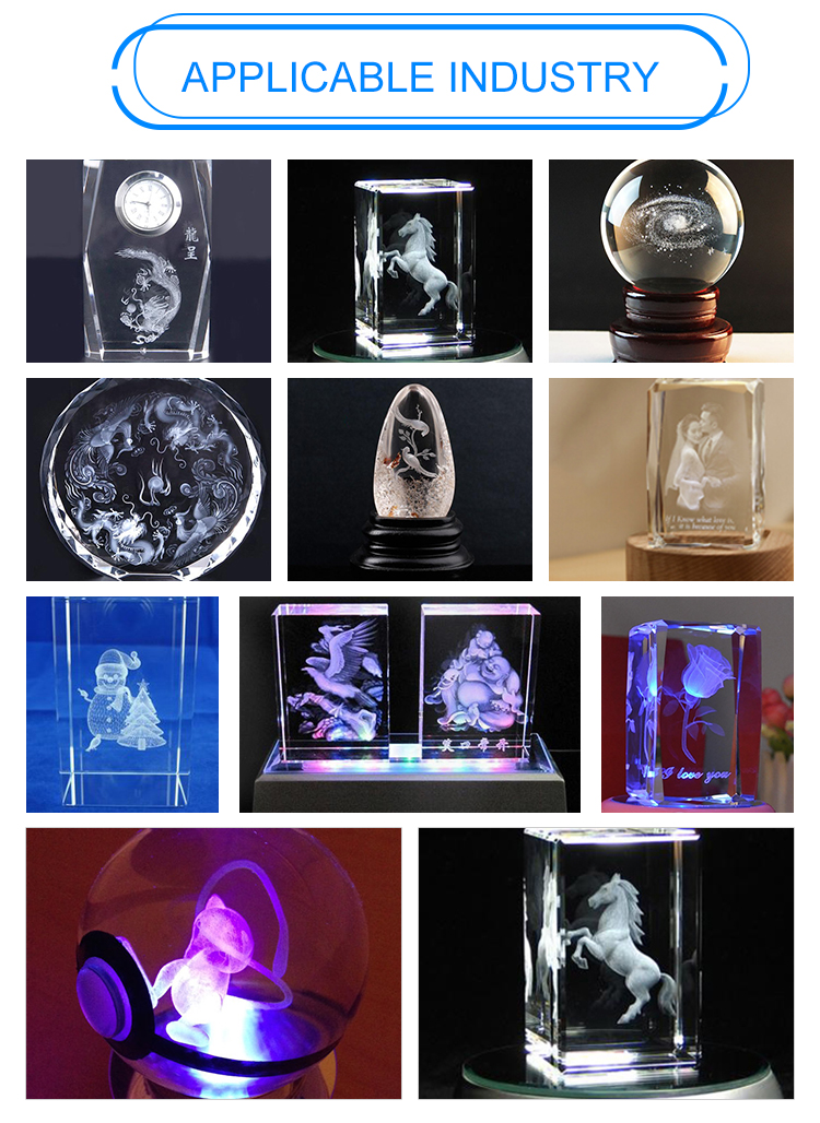 AOYOO 3d crystal glass laser engraving machine