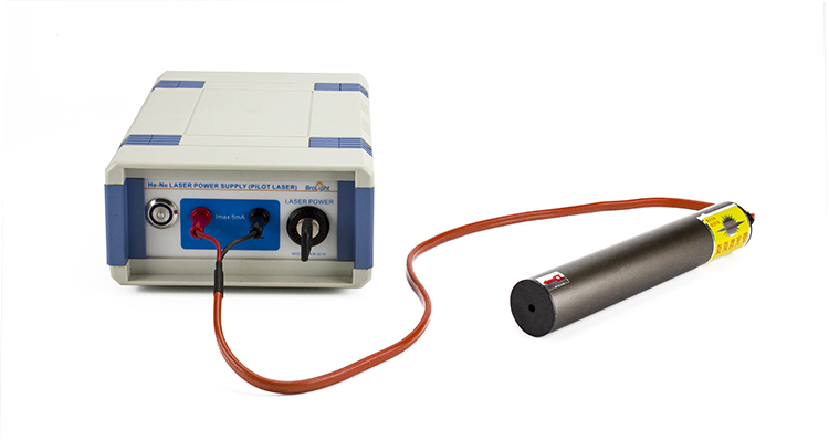 He-Ne Laser with Power Supply