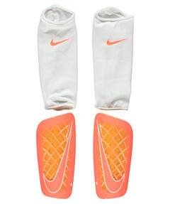 NIKE Mercurial Lite Soccer Shin Guards Orange Size M