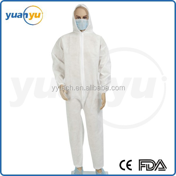 Disposable protective clothing disposable coverall one use body suits