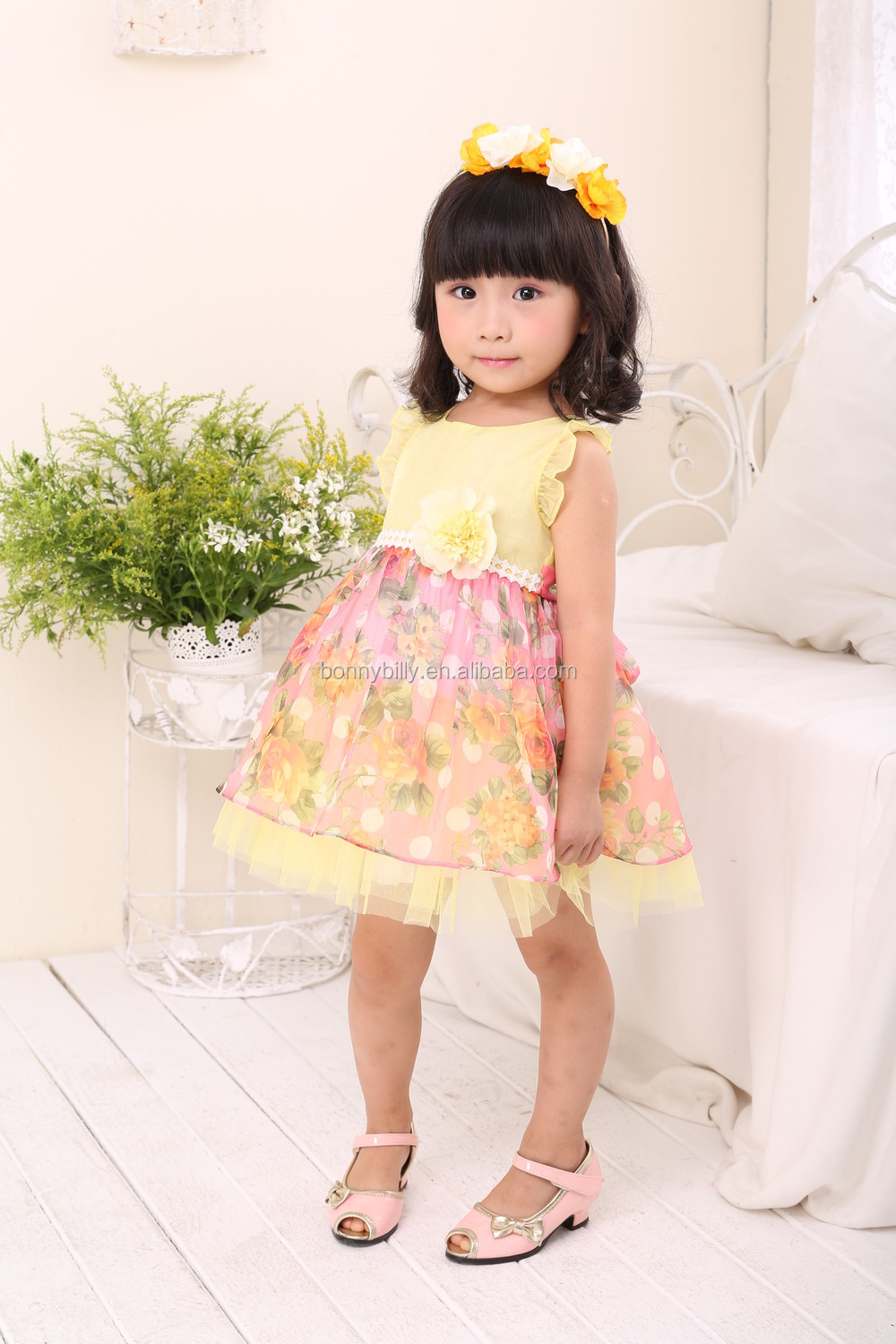 Sweety Baby Summer Chiffon Dress Carters Baby Clothes Thailand