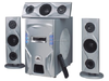 3.1 home theater subwoofer speaker with FM/USB/SD player