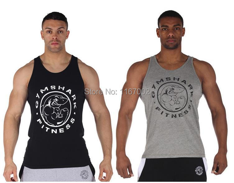 Fitness!Summer cotton golds gym tank top men Sleeveless shirts boys bodybuilding clothing Sport undershirt vest Sports Clothes