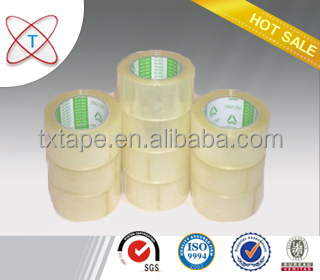 Free Sample Single Sided Bopp Packing Adhesive Tape Jumbo Roll/Paper Carton