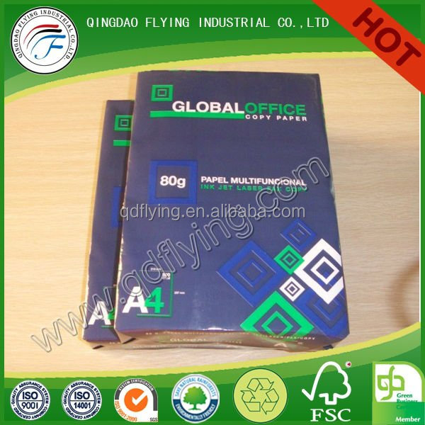 OEM Letter Size smart copy paper Copy A4 Paper 80 gsm for Photocopy