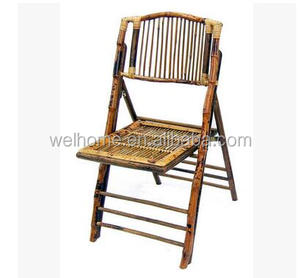 cheap hotsale outdoor garden bamboo folding chair