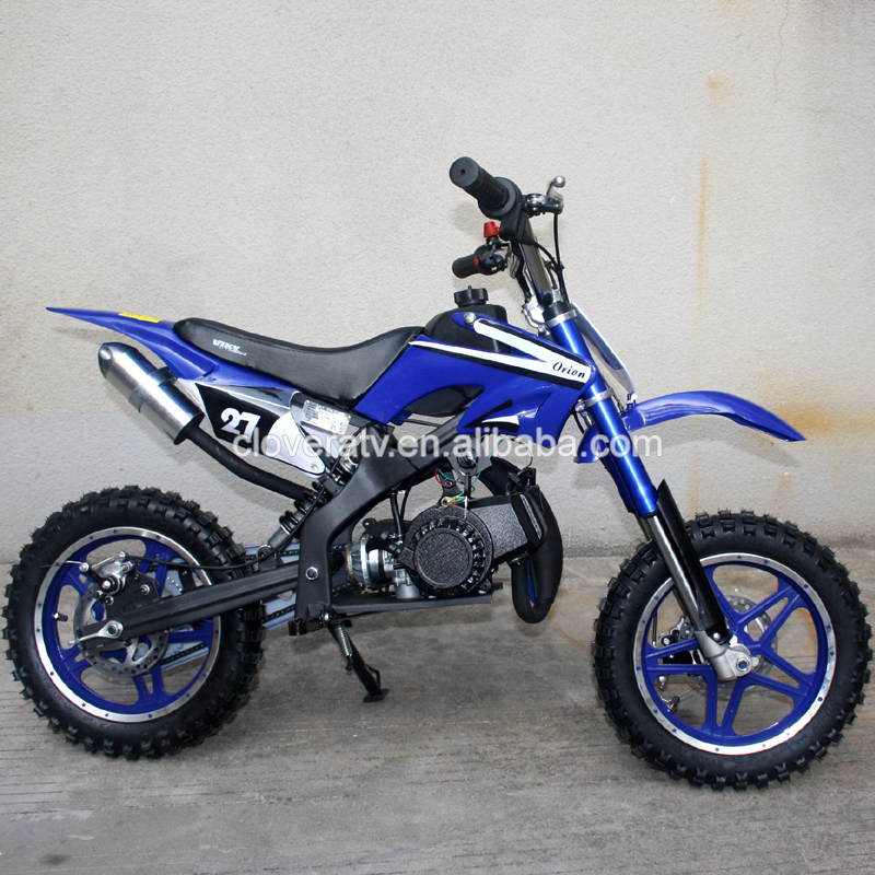 Pull Start and Electric Start Petrol Dirt Bike 49CC Motorcycle for Children