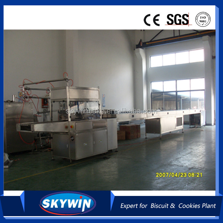 Automatic Chocolate Enrober Making Machine Production Line Complete