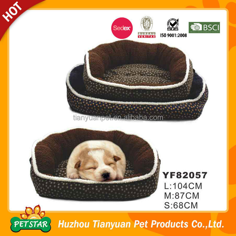 YF82056 Wholesale Price Pet Products Large Soft Dog Beds