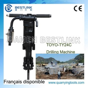 Sales TOYO TY24C Pneumatic Jack Hammer for Rock Drilling