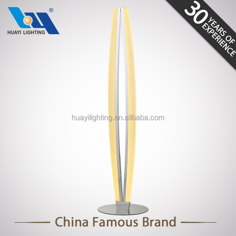 Zhongshan Top selling indoor office floor lamp and home floor lamp stand