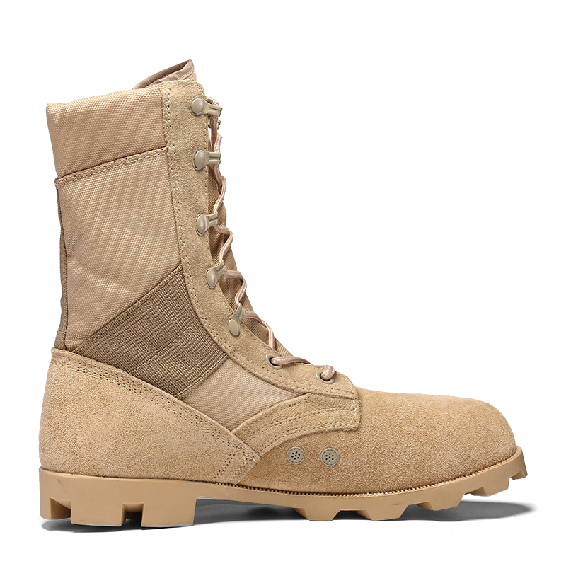 Jungle Army Cuoio Tactical Military Combat Boot