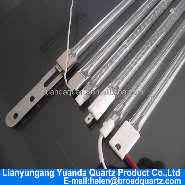 Customer Mmade Infrared Heating Lamp 400v 2500w With CE Infrared Emitters