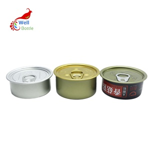 food grade empty tuna tin cans with pull ring for food canning AJ-261RI