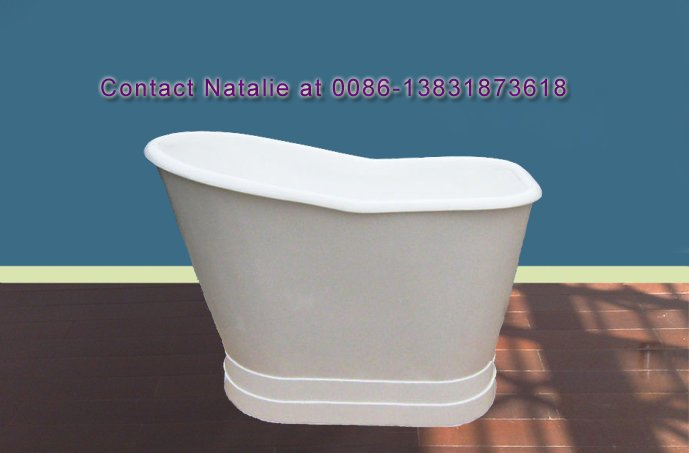 Deep Cast Iron Freestanding Bathtub - Buy Deep Bathtub,Cast Iron ...